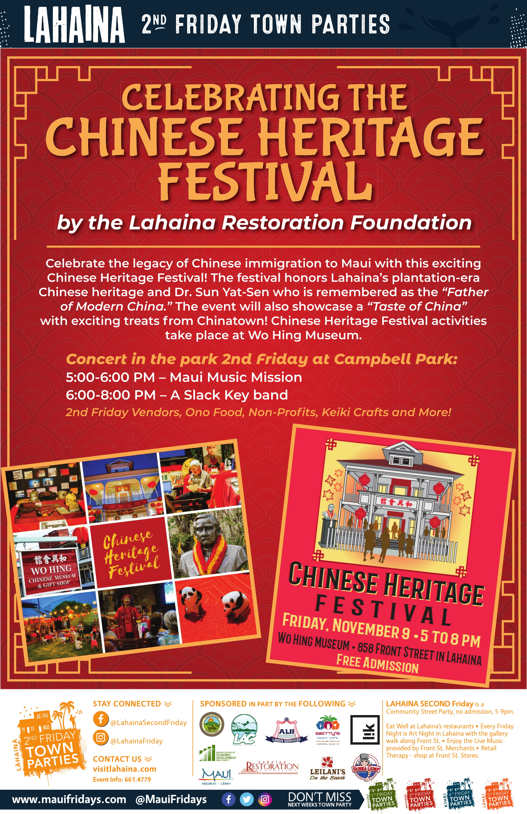 Lahaina 2nd Friday Celebrates the Chinese Heritage Festival