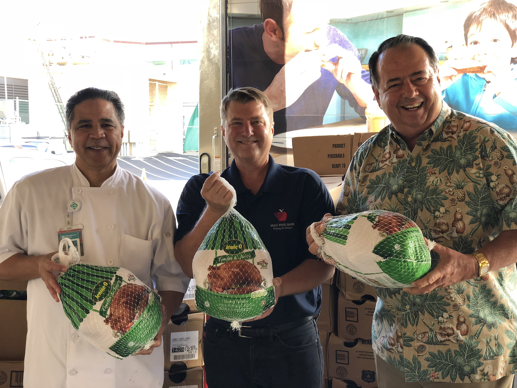 Maui Health System Helps Provide Holiday Meals
