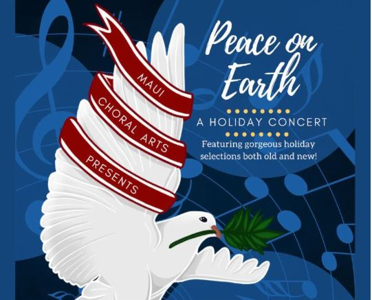 Maui Choral Arts Holiday Concert at the MACC, Nov. 25