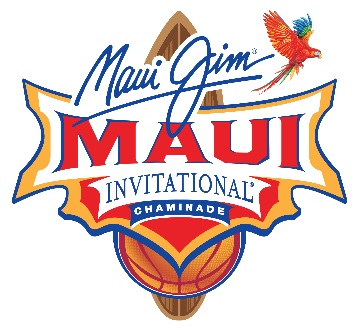 2019 Maui Jim Maui Invitational Bracket Announced
