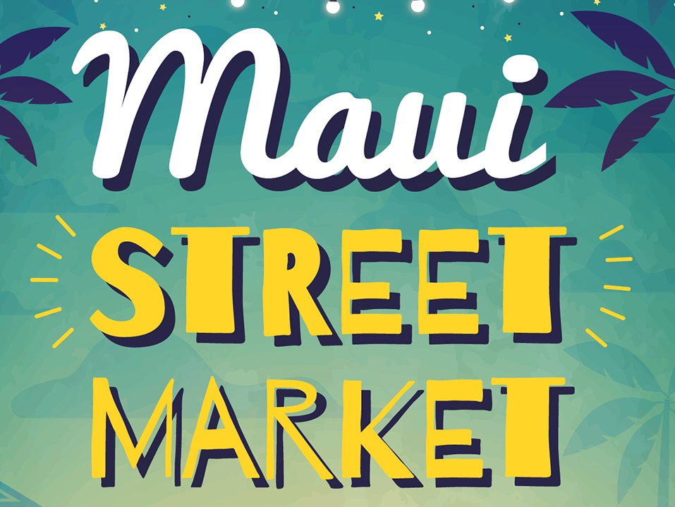"First Ever ""Maui Street Market"" at UH Maui College"