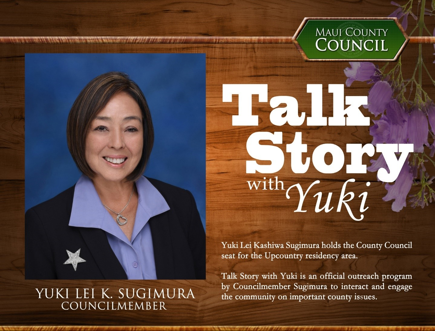 Yuki Lei Sugimura Hosts Talk Story at Upcountry Farmers Market