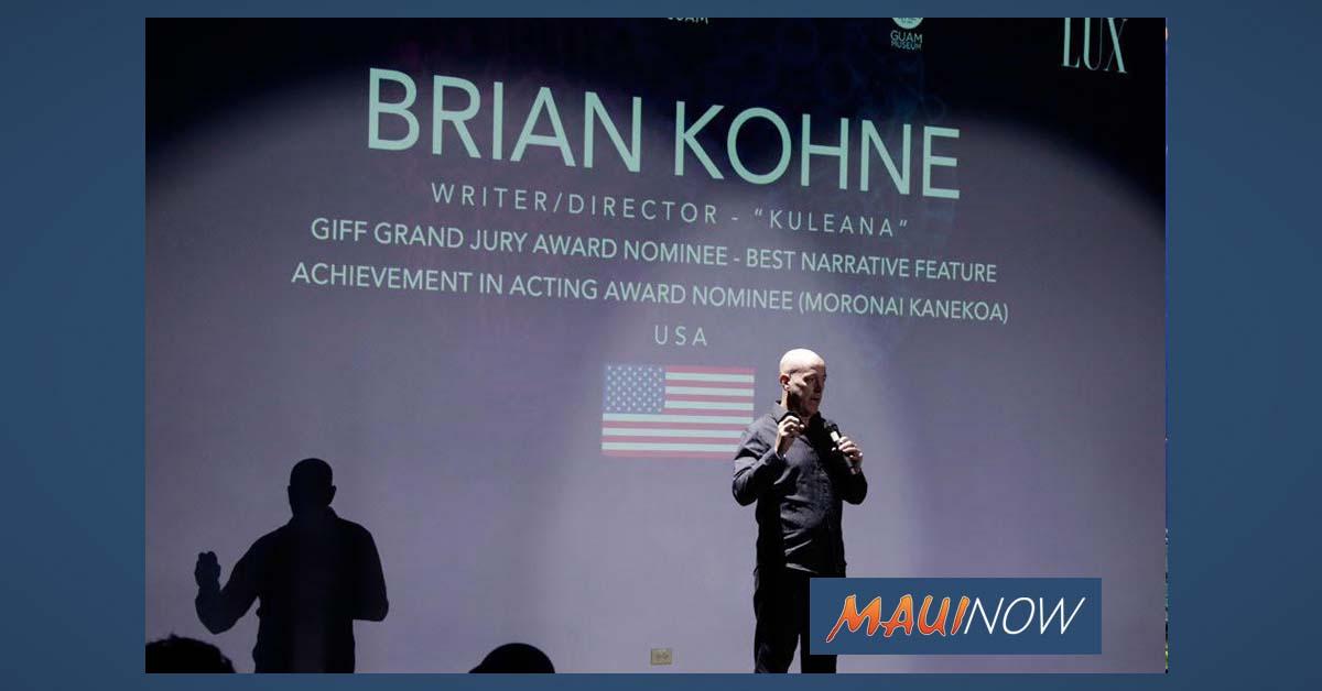 Filmmaker Kohne Leads UHMC Creative Media Program