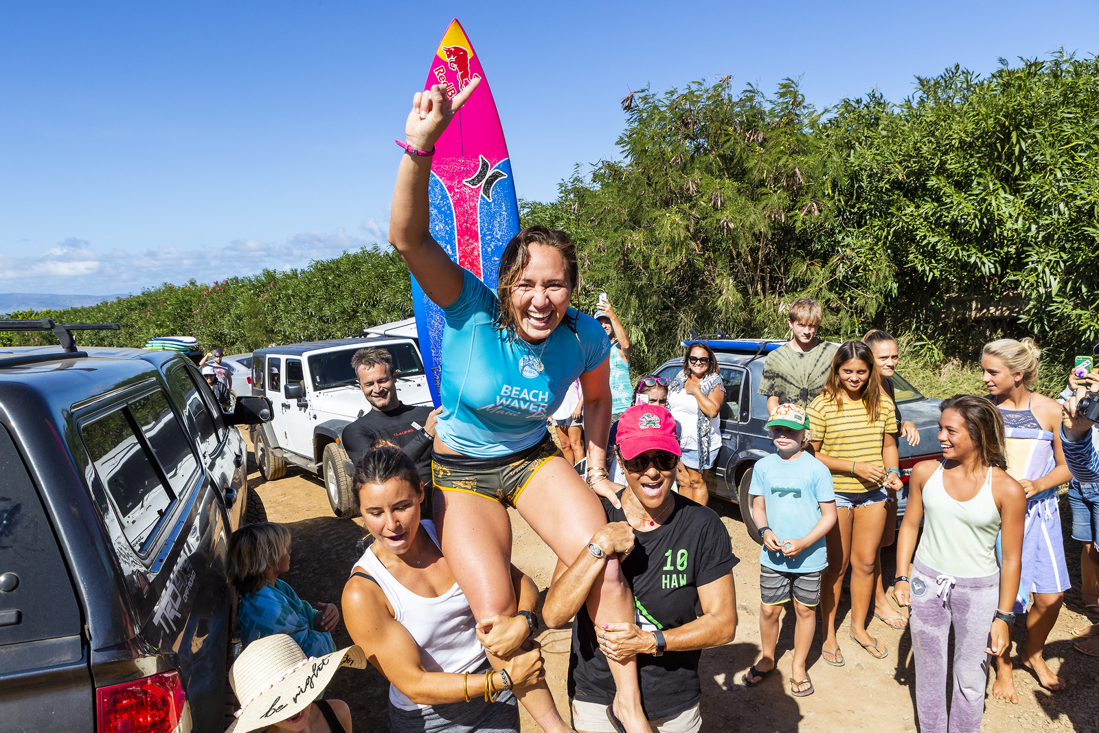 Carissa Moore Wins Beachwaver Maui Pro with Perfect 10