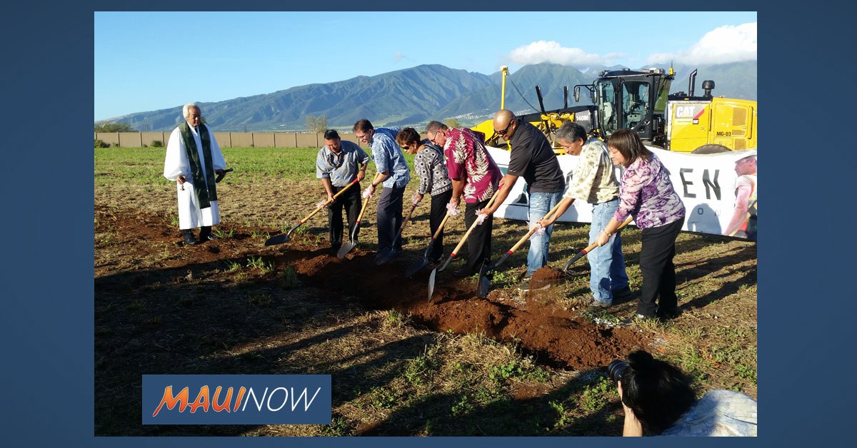 County Breaks Ground on New Maui Service Center