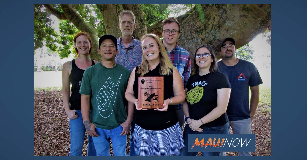 Ant Lab Recognized for Stemming the Tide of Little Fire Ants in Hawai'i