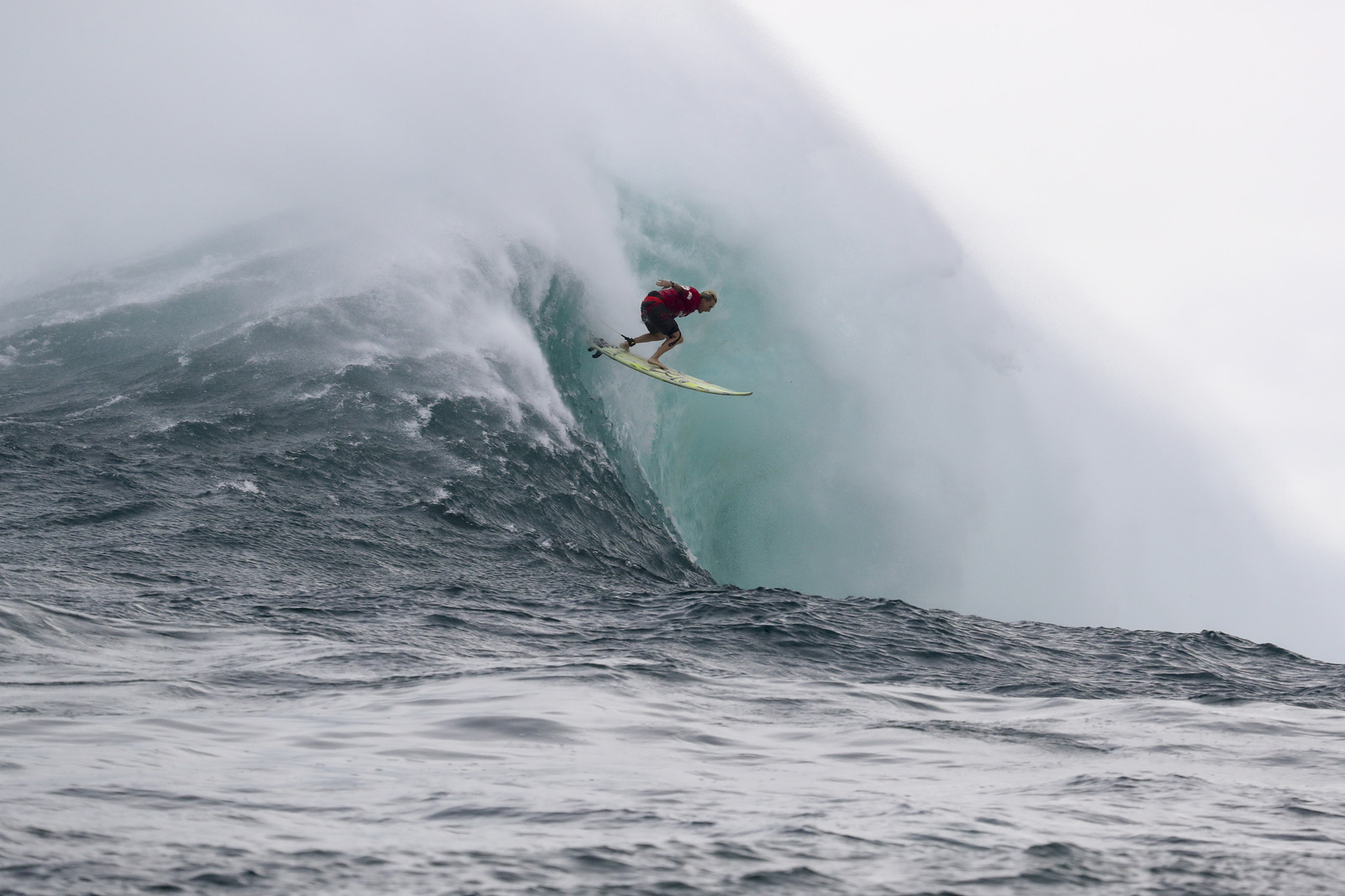 Keala Kennelly Wins Women's Title at Jaws Challenge at Pe'ahi