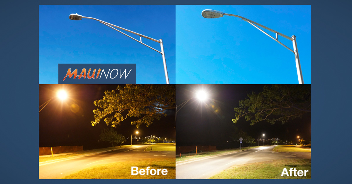 Maui Energy-Saving Streetlight Installations Starting in November