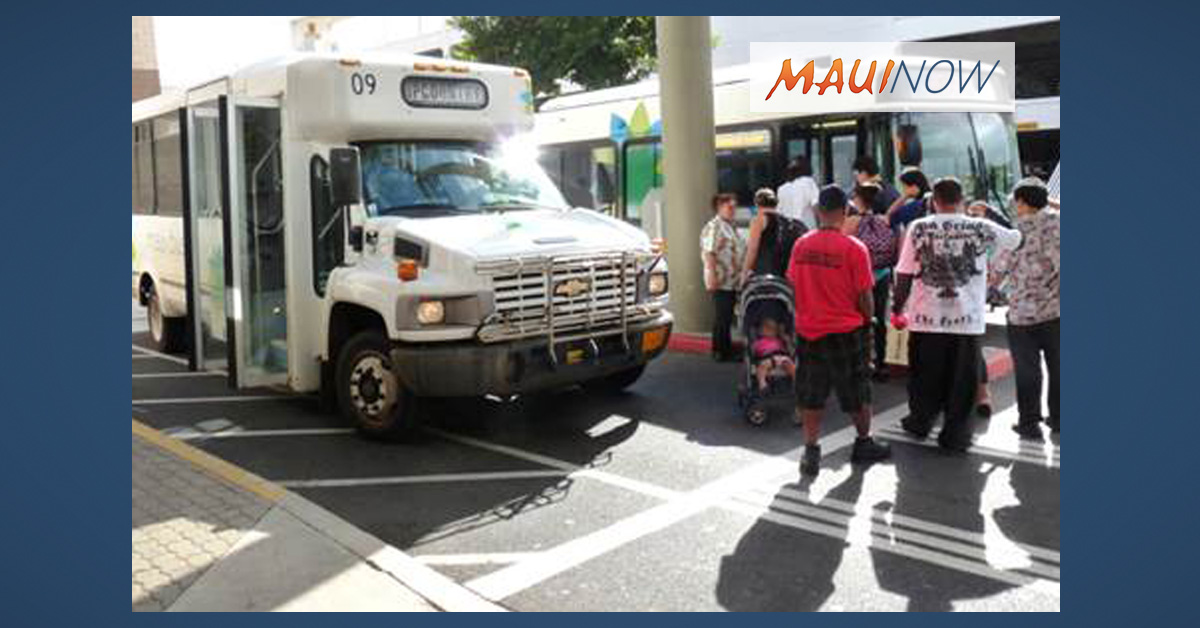 Input Sought on Maui Long Range Transportation Plan