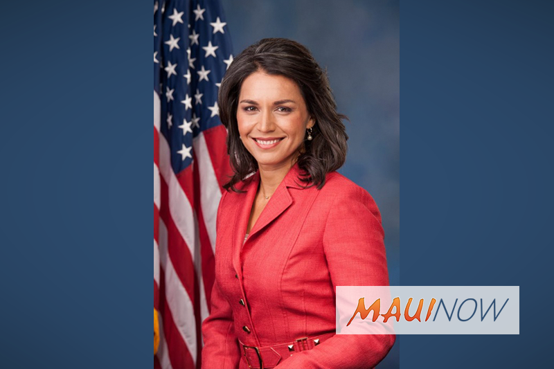 Rep. Tulsi Gabbard Calls to End US Military Support of War in Yemen