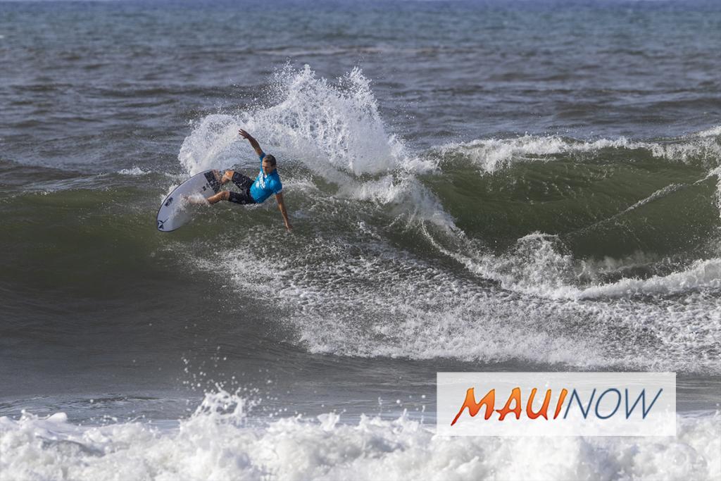 288d3267a9 Maui Now   Maui Surfer Rebounds at Hawaiian Pro