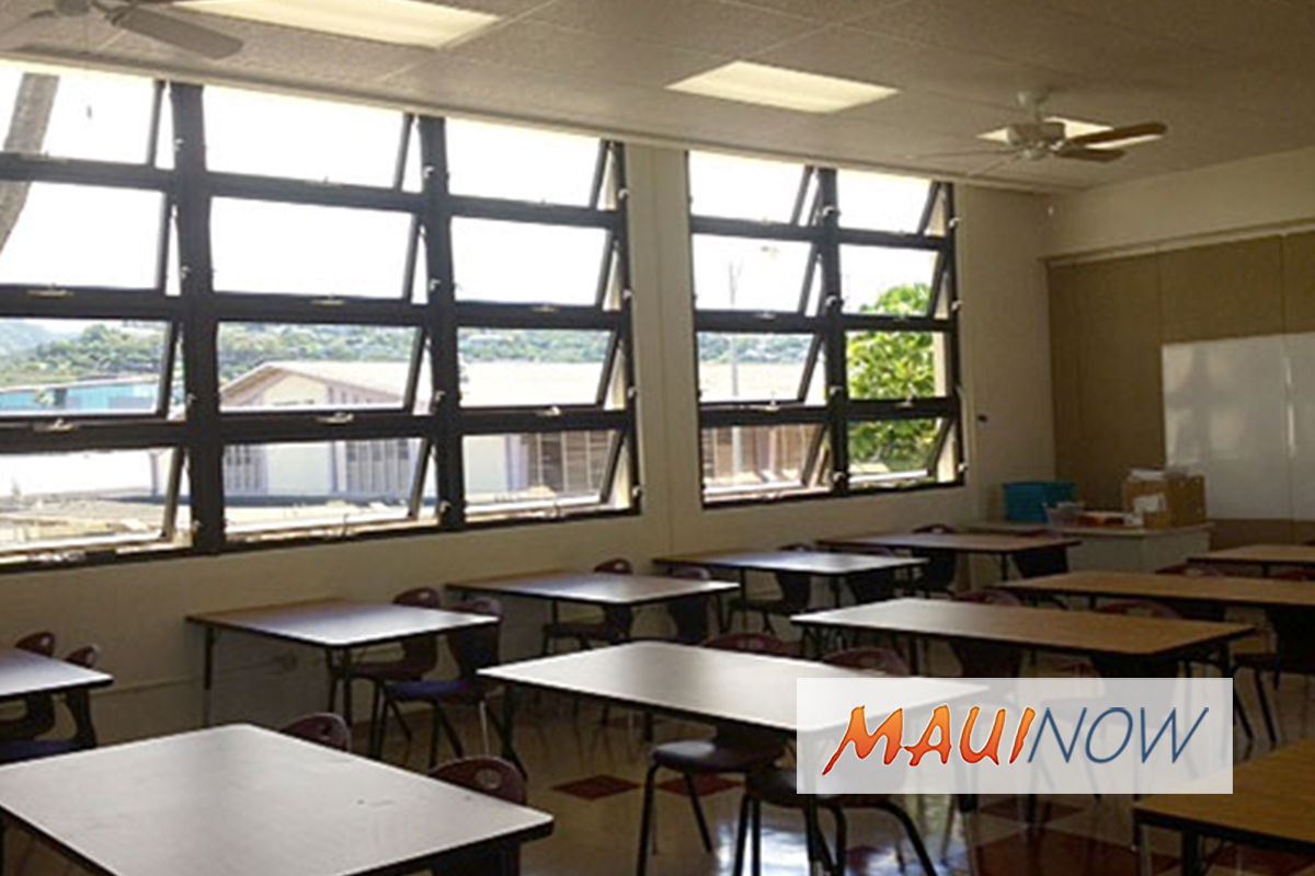 Department of Education to Modernize Facilities Maintenance Program