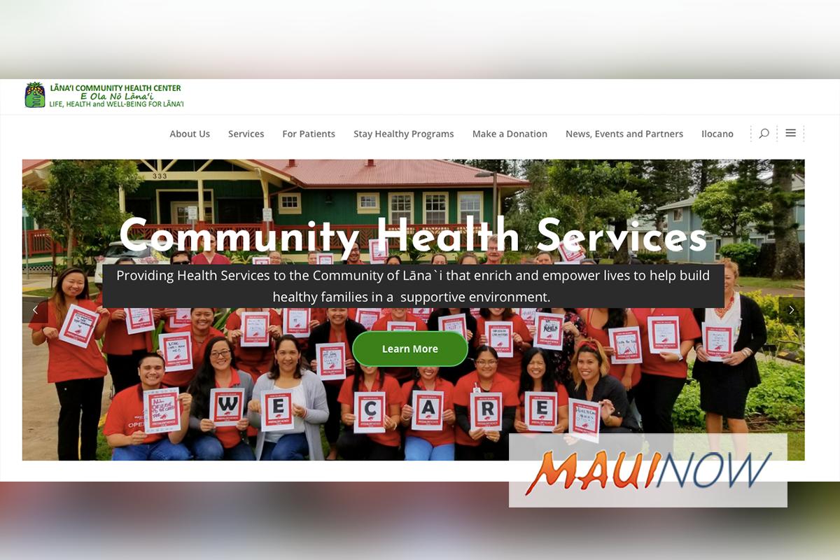 Lānaʻi Community Health Center Launches New User-Friendly Website