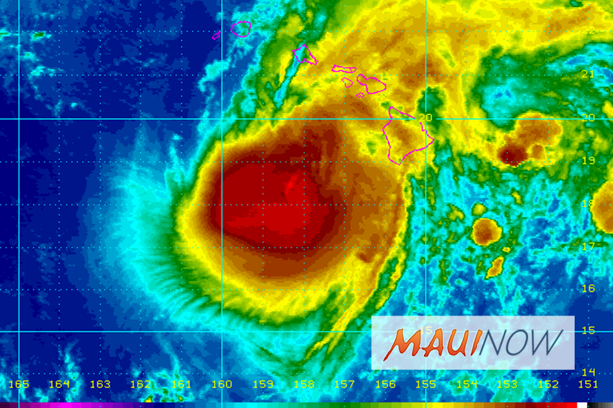 New Study Shows Shifting Hurricane Tracks Pose Flood Risks for Hawai'i