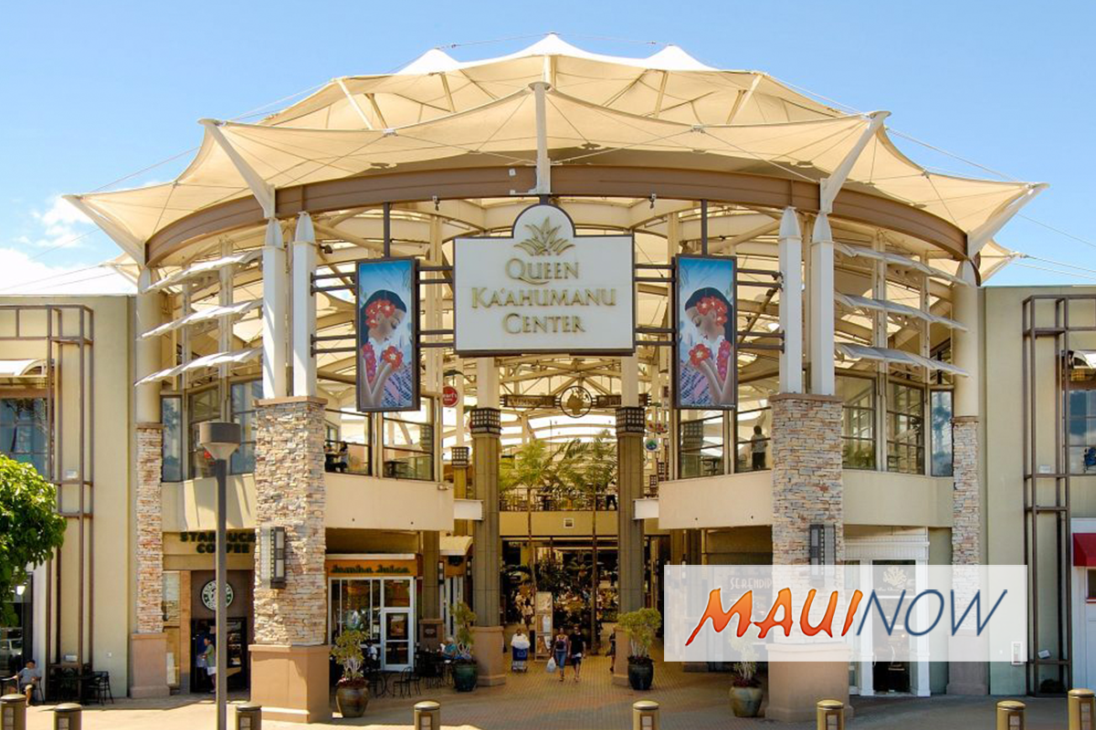 Queen Ka'ahumanu Center Announces Thanksgiving Day Shopping Hours