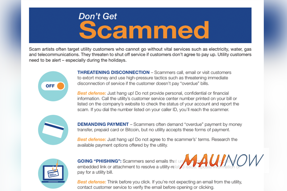 Five Tips to Protect Yourself from Utility Scams