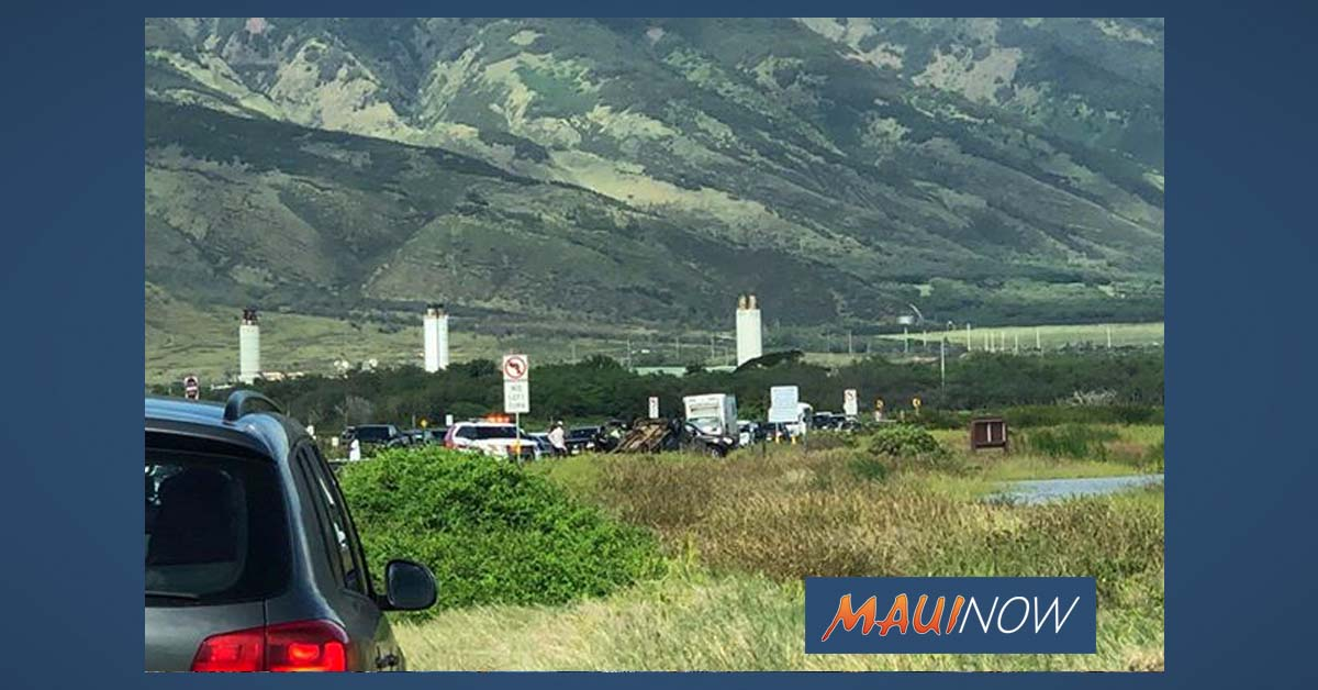 Vehicle Accident: North Kīhei Road, Mā'alaea
