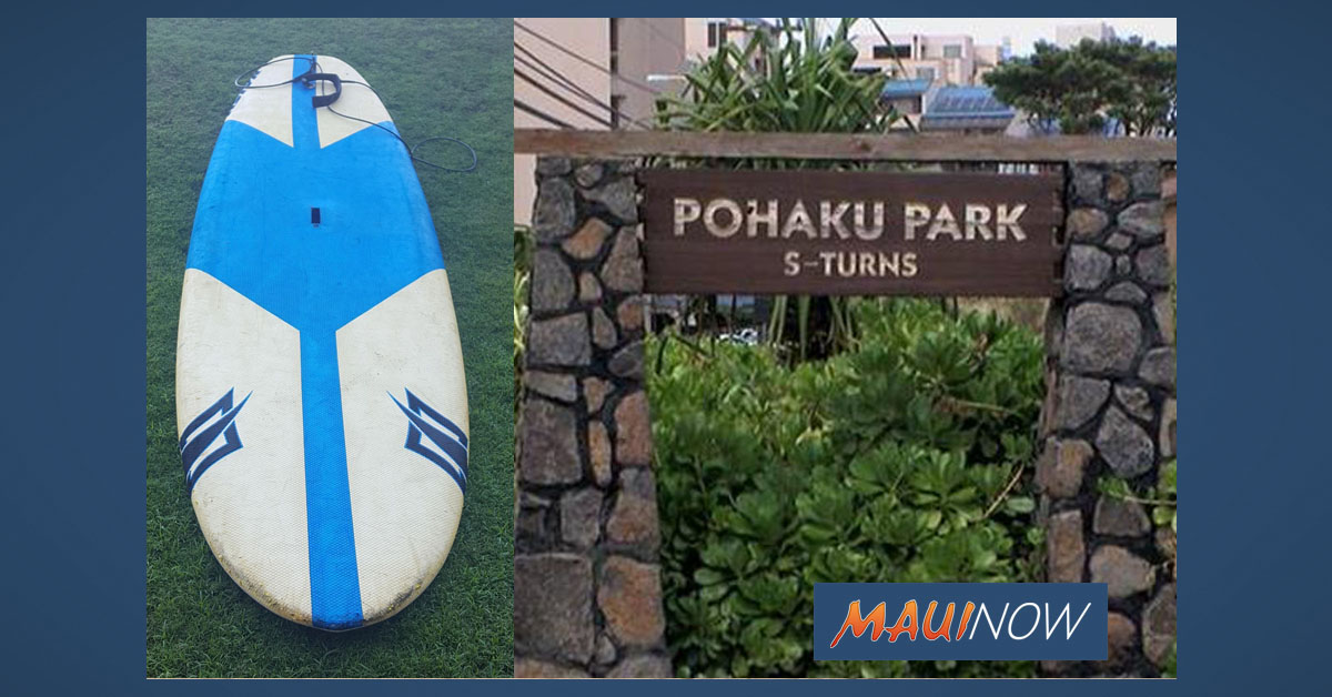 Search Initiated for Owner of Paddle Board off Nāpili, Maui
