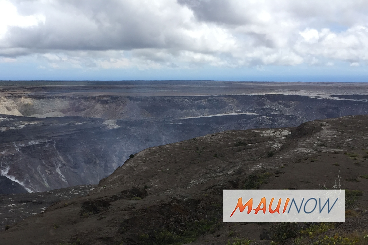 Kīlauea Summit Collapses Have Similarities