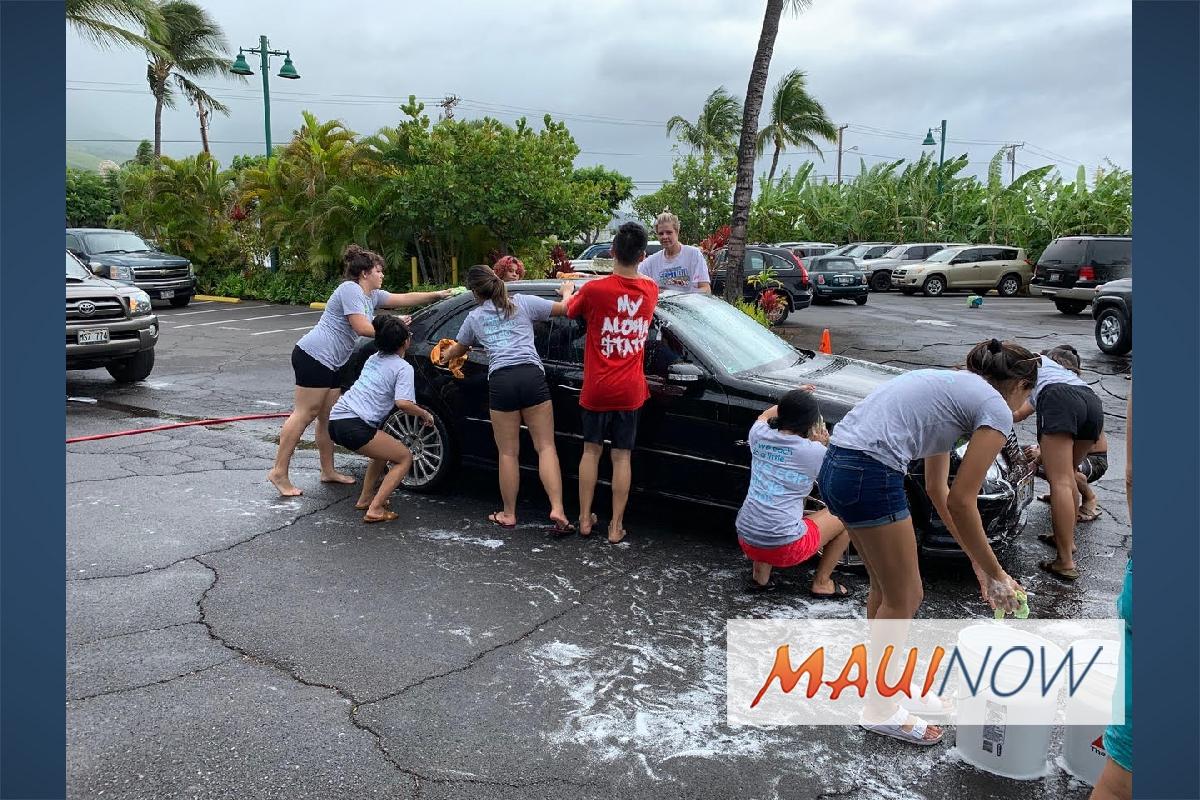 West Maui Kumuwa Hosts a Successful Ocean-Friendly Car Wash