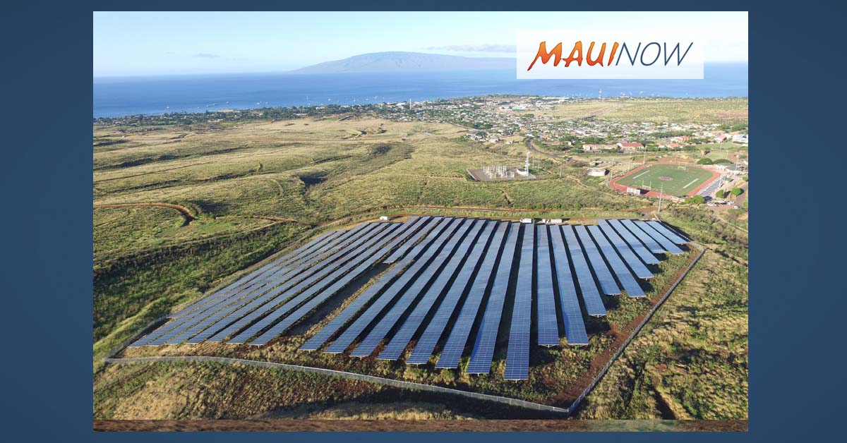 Gov. Ige Announces New Clean Energy Program