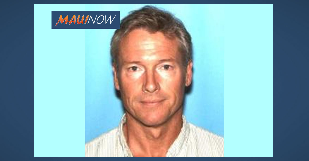 Missing Man, Last Seen Nov. 6 in Kahului, Maui