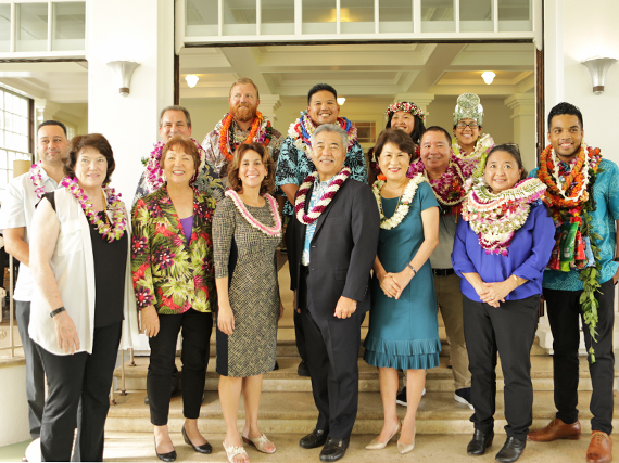 Brandon Arakawa Named Maui District Teacher of the Year