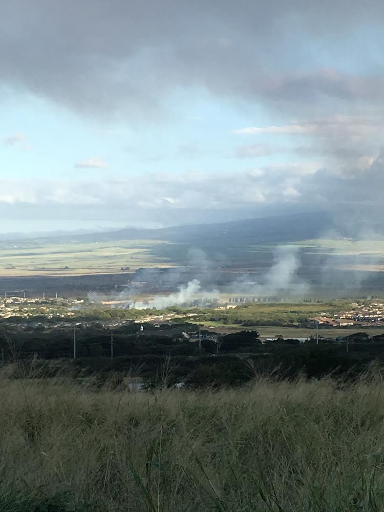 Maui Lani Brush Fire