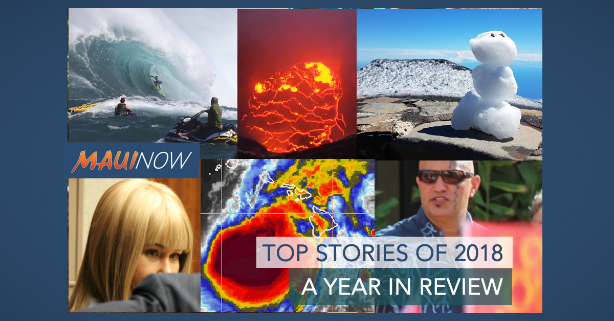 Maui Year in Review: Top Stories of 2018