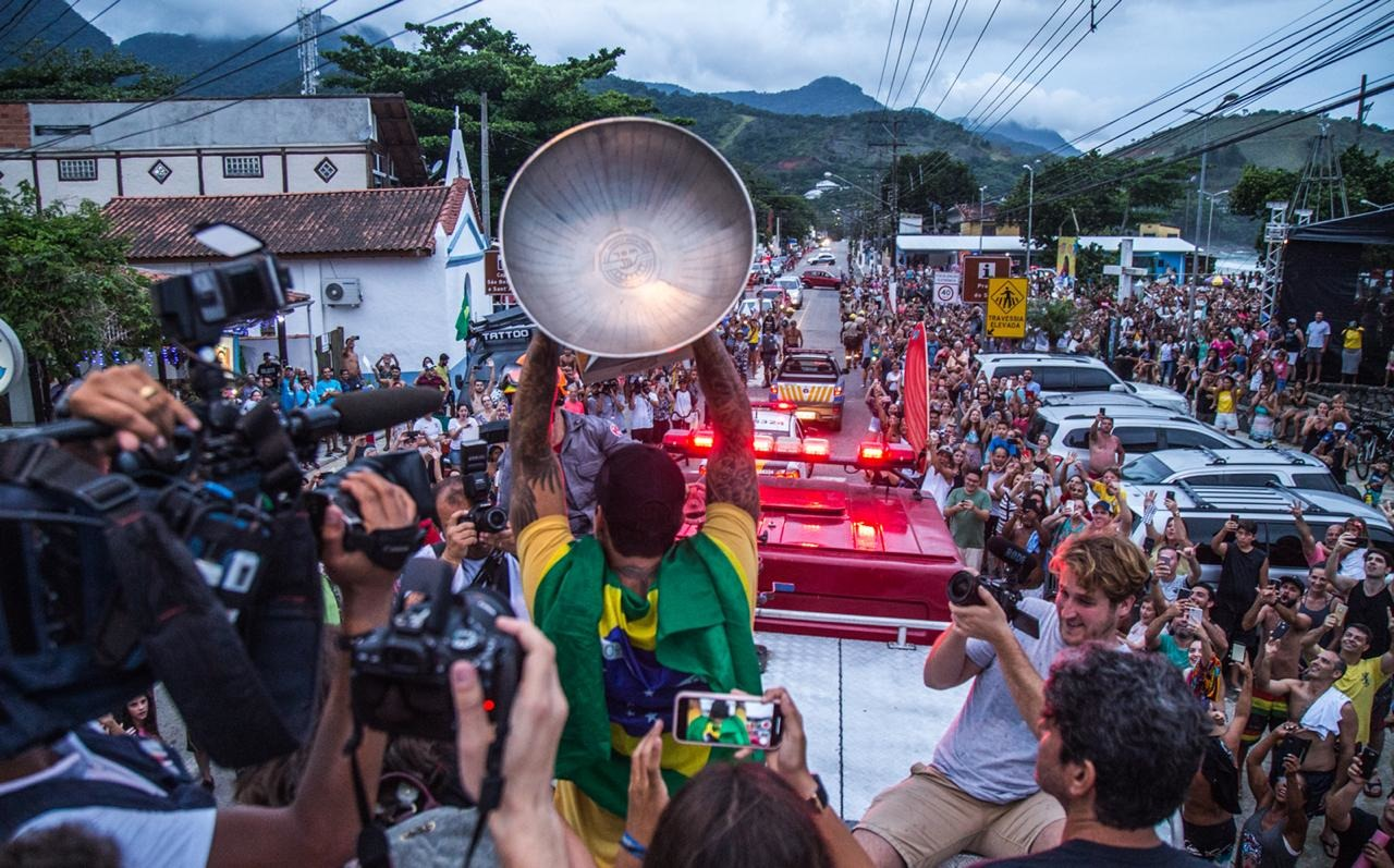 Brazil Celebrates Gabriel Medina's Championship Victory