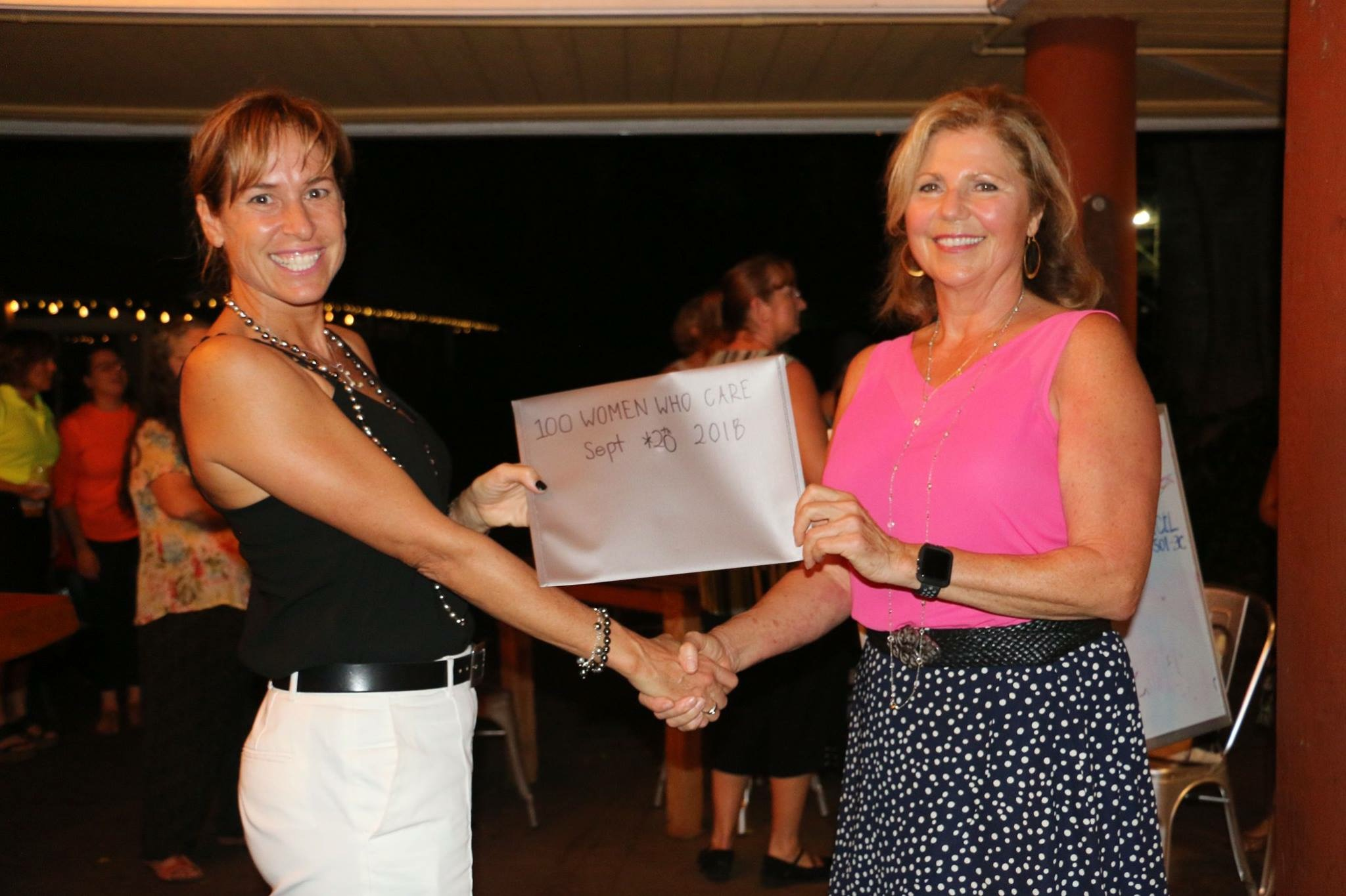 Local Women's Group Donates Thousands to Marine Nonprofit