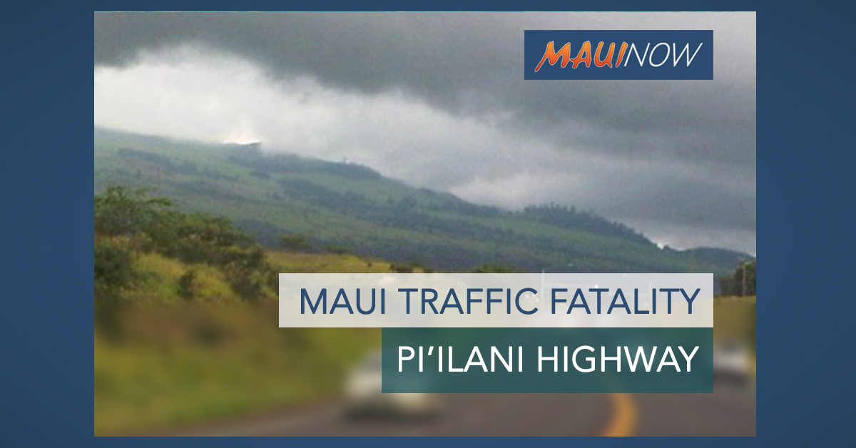 Maui Woman Dies in Pi'ilani Highway Hit-and-Run Accident