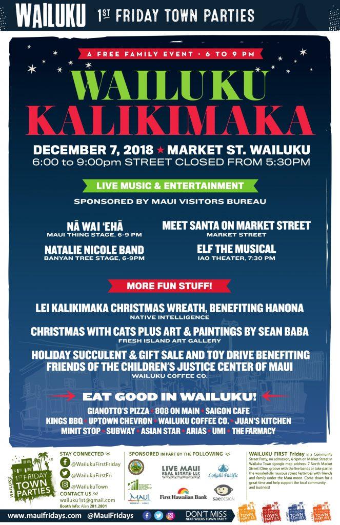 f88734d18 Maui Now   Nā Wai  Ehā to Headline Wailuku First Friday
