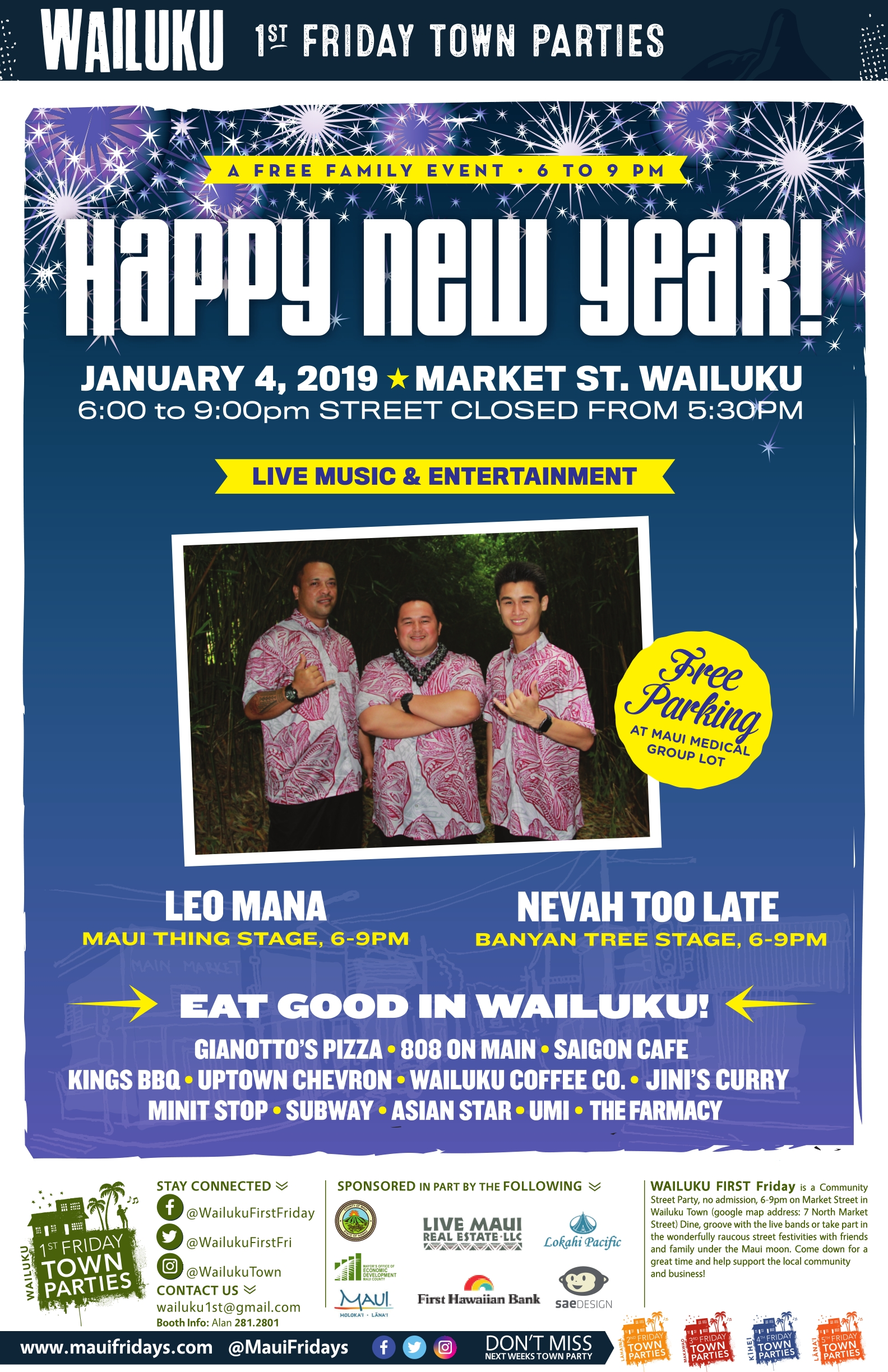 Leo Mana to Perform at Wailuku First Friday