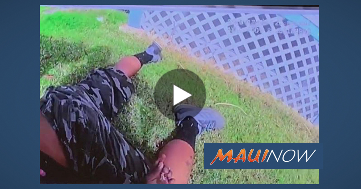 Maui Police Body Cam Video Released in Deadly Shooting