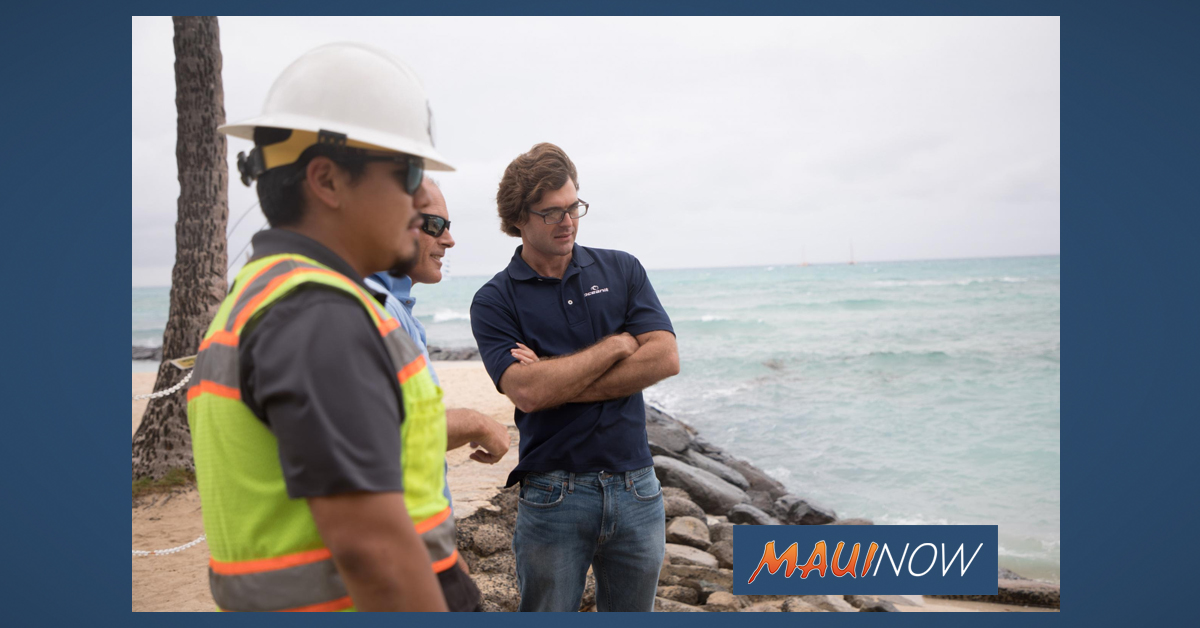 Public Lecture on Maui Coastal Erosion, Jan. 2