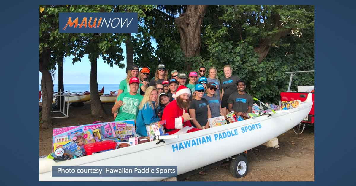Maui Paddle For Keiki Toy Drive Benefits 275+ Children