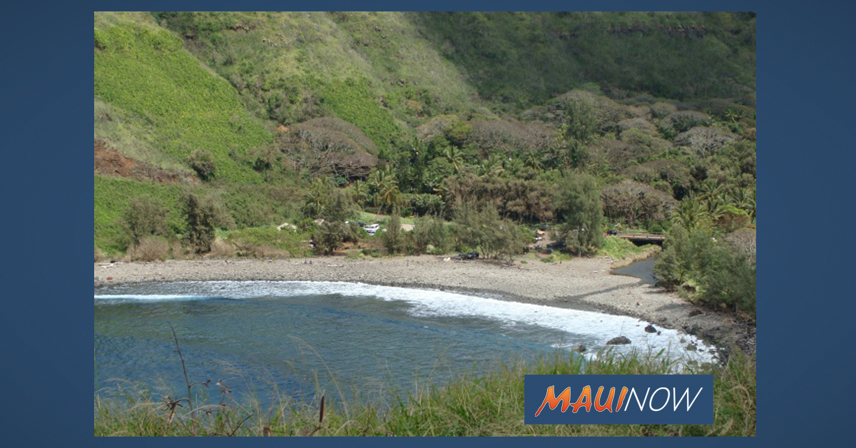 Waterline Break in Honokōhau Valley, West Maui