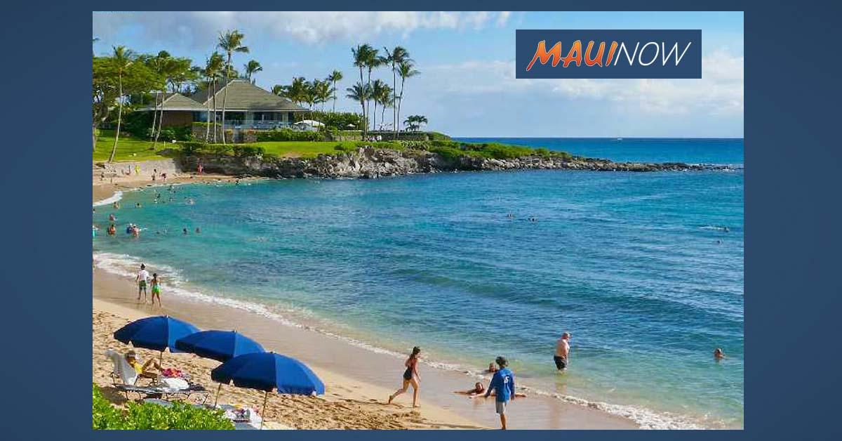 Swimmers in Distress Assisted to Shore at Kapalua
