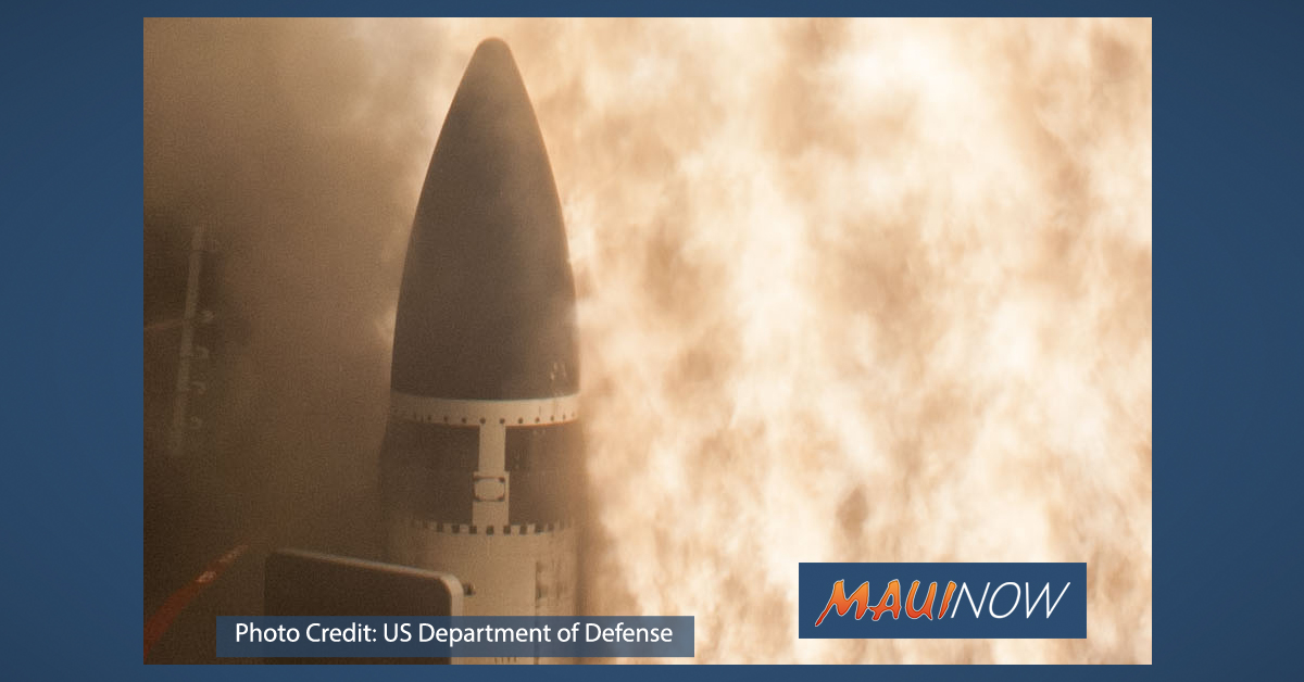 US Successfully Intercepts Intermediate Range Ballistic Missile Target in Test Off Kaua'i