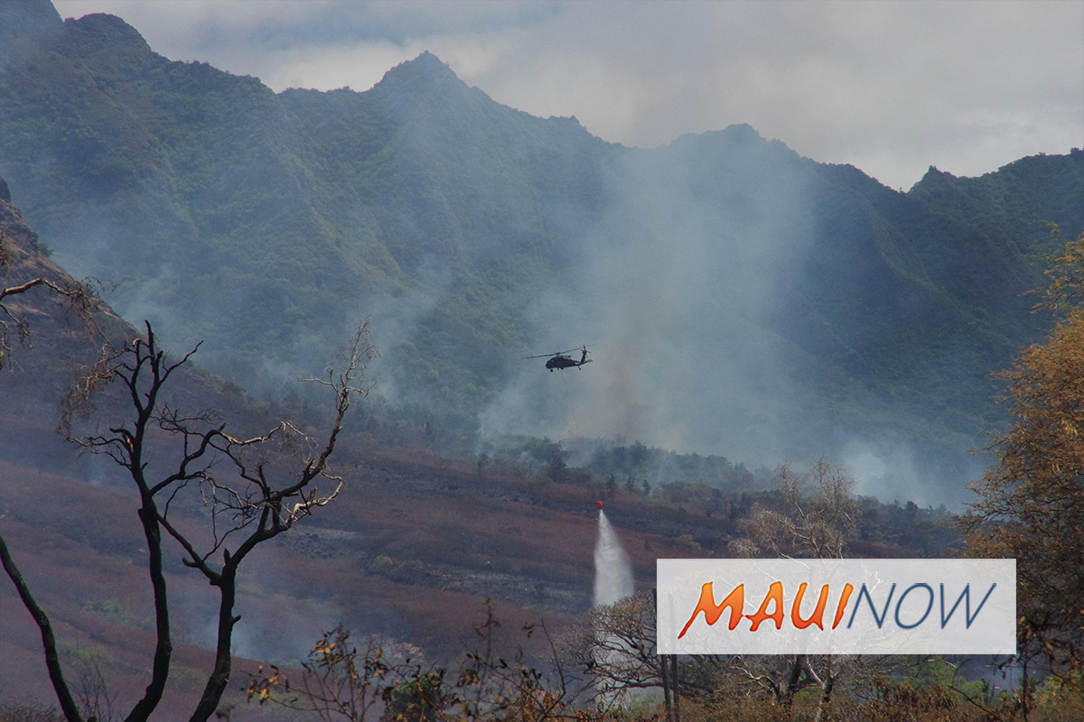 Hawaiʻi at Higher Risk of Wildfires, New Study Finds