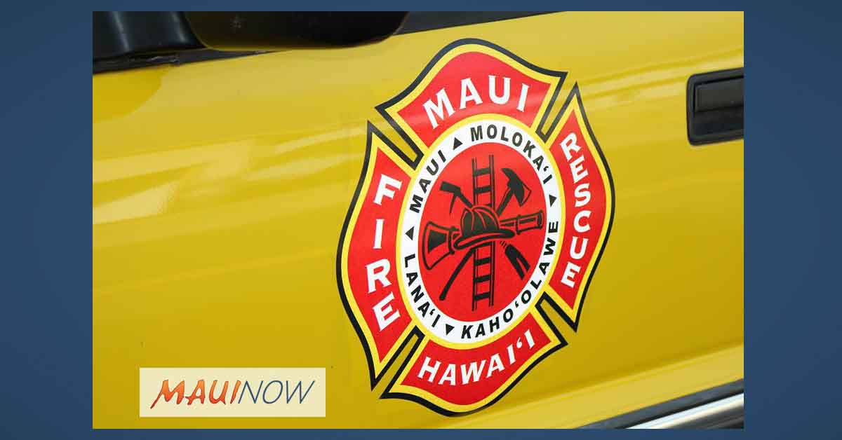 Maui Firefighters Battle Three Fires on Sunday, One Person Displaced