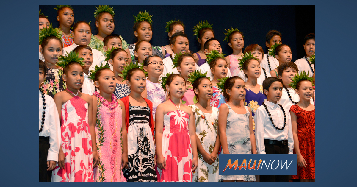 Nā Mele O Maui: Maui's Only County-Wide Hawaiian Song Competition
