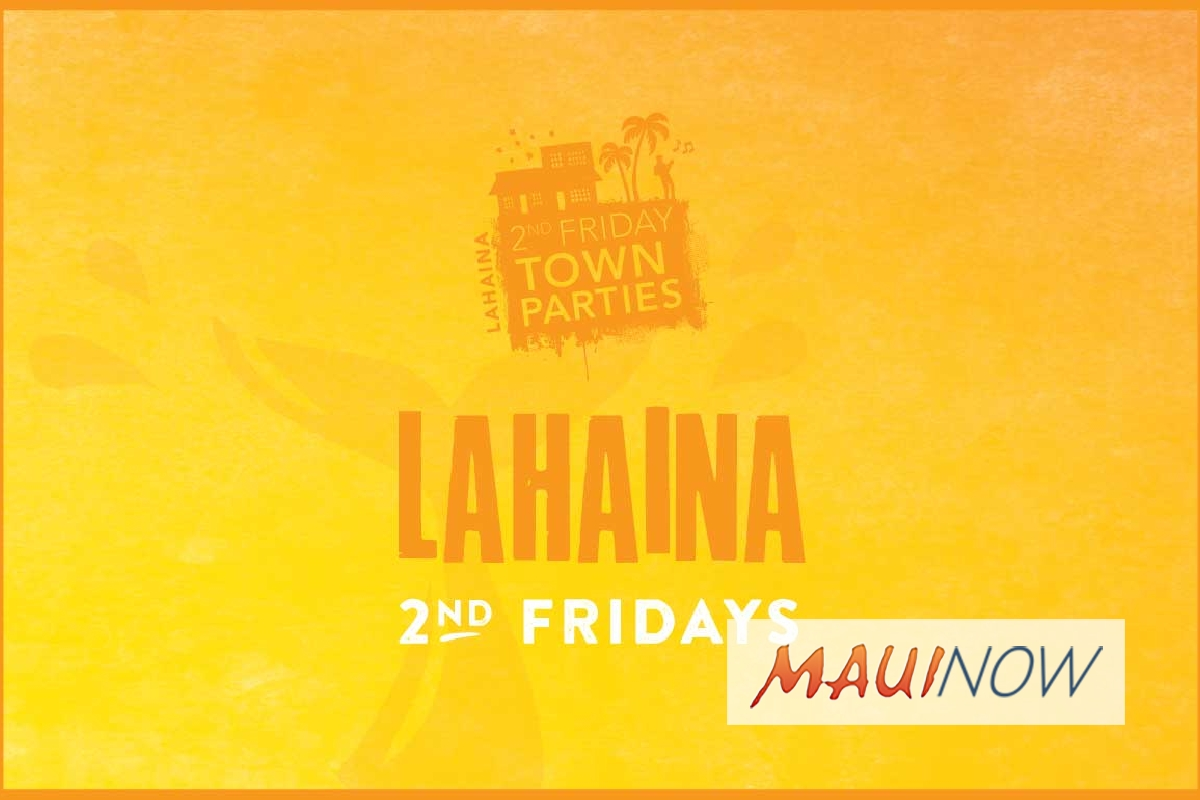 Lahaina 2nd Friday Town Party, Jan. 11