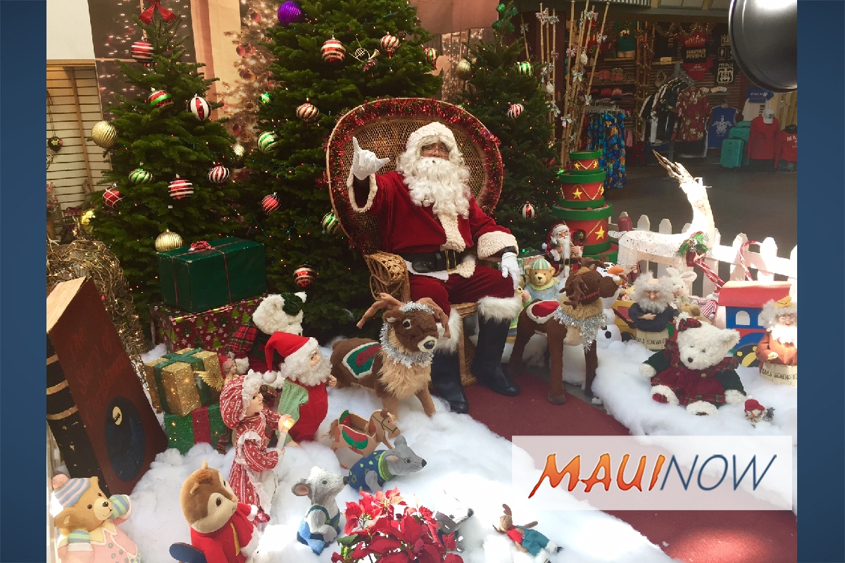Lahaina Cannery Mall Announces Holiday Activities