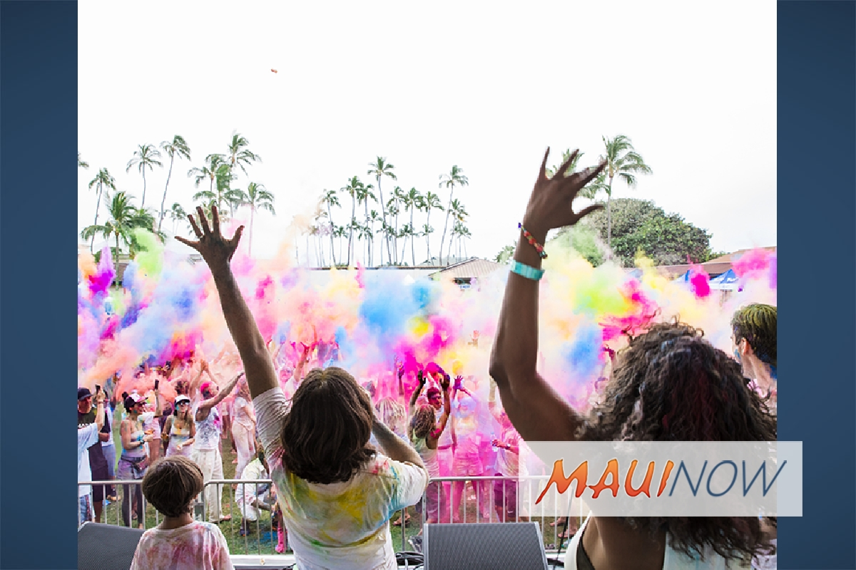 Imua Family Services to Host Color Festival Hawai'i