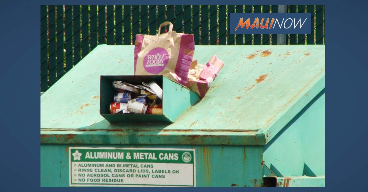 Ask The Mayor: Why Does Wailuku Have No Residential Recycling?