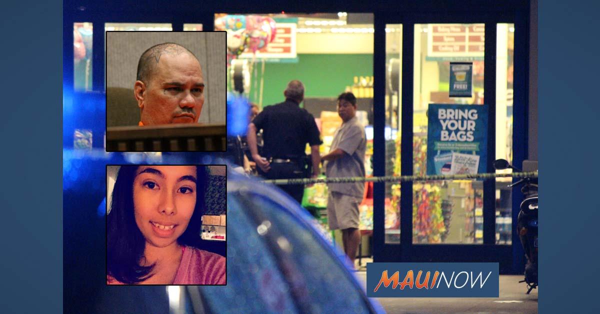 Schmidt Sentenced in Wailuku Supermarket Slaying