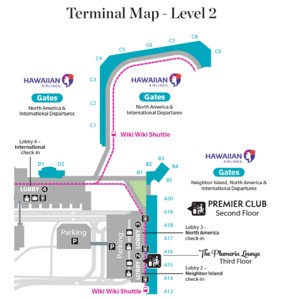 honolulu airport departures map New Hawaiian Airlines Hnl International Check In Maui Now honolulu airport departures map