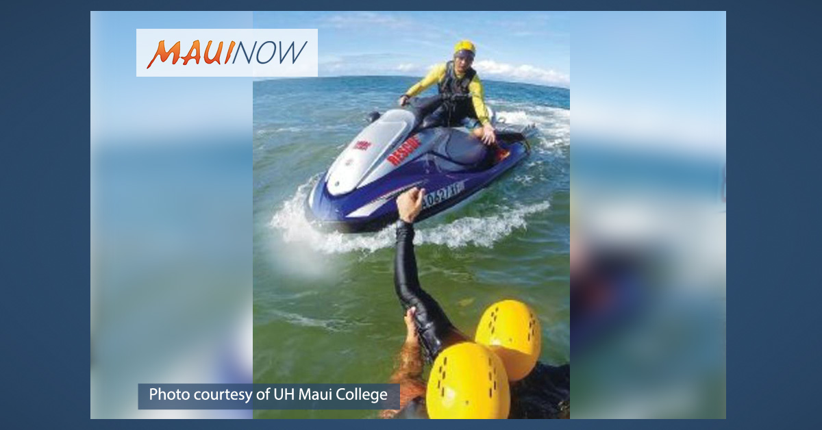 Thrill Craft, Tow-in Training at UH Maui College